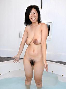 mature asian lass inveigling