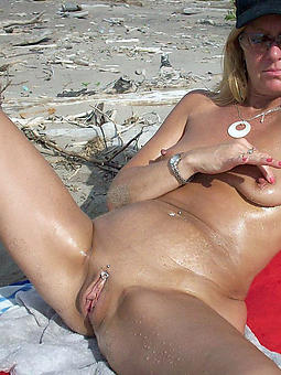 mature women not susceptible beach seduction