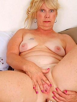 curvy mature light-complexioned with regard to stockings