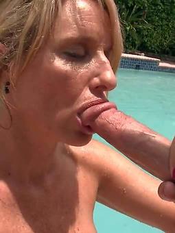 mature deep blowjob hot porn pics
