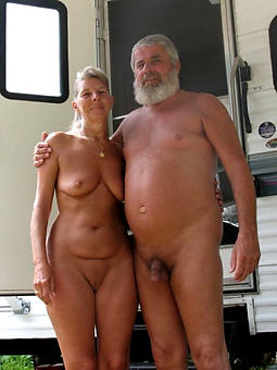 mature old couples stripping
