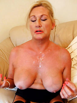 venerable lady cumshot porno