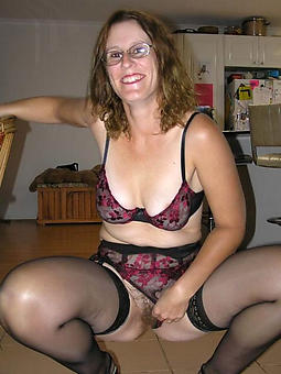 wild mature women in glasses bald pics
