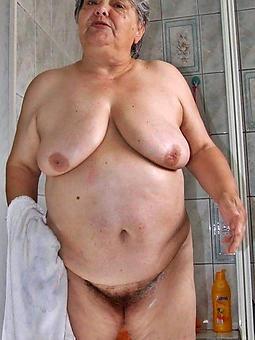 hot grandmas unconforming unveil pics