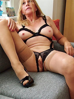 out-and-out granny fucking tease