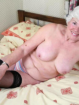 naked grannie video