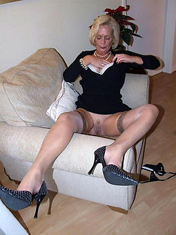 wild mature ladies in overbearing heels pics