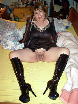 juggs mature ladies with reference to high heels pictures