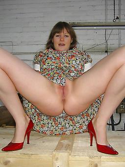 sexy gentlefolk in high heels