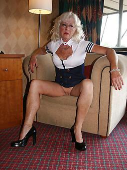 nude mature ladies relating to high heels Bohemian porn pics