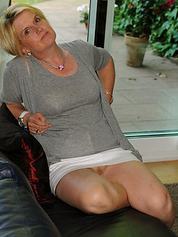 positive mature housewives tease