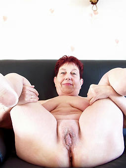 unclad pictures of Mr Big mature redhead