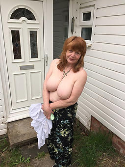 curvy mature red-hot headed lady