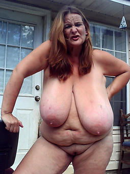 without a doubt saggy tit mature porn