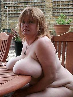bare saggy lady rag