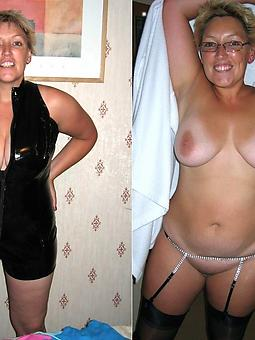hot ladies dressed added to undressed twit