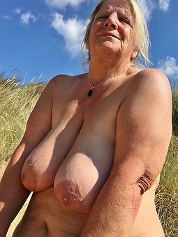 hatless pics of grey nude grandmas