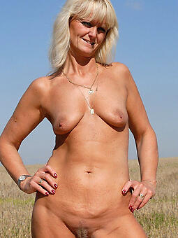 perfect X-rated mature blonde photos