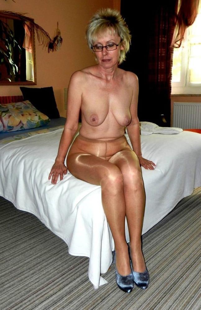 In mature pics ladies pantyhose Women Wearing